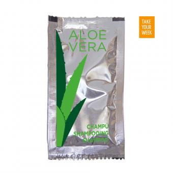 Sachet Champú Aloe Vera 500u